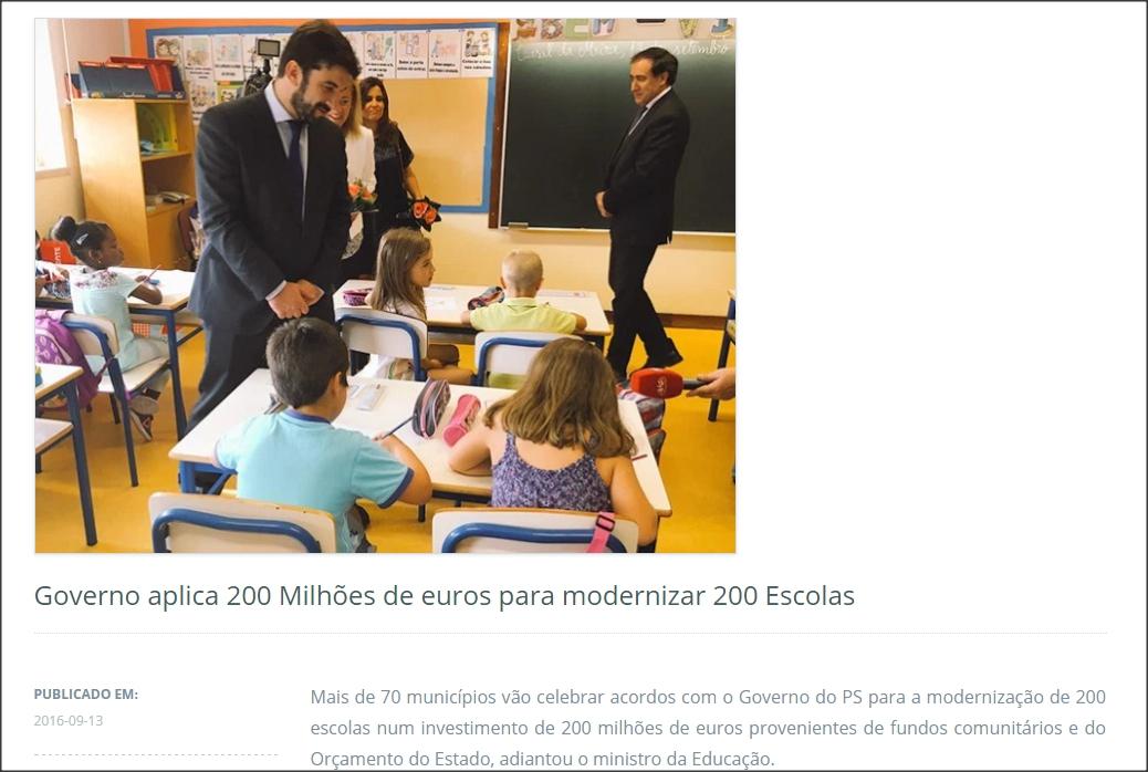 São 200 milhões de euros